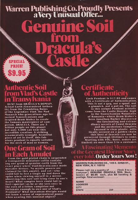 Darling Pet Munkee Issue 4: Genuine Soil From Dracula's Castle