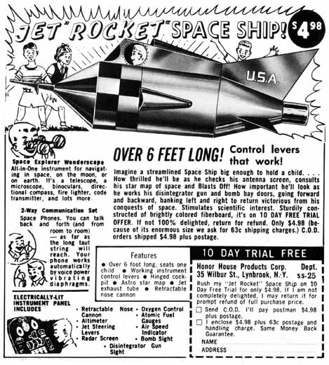 "Darling Pet Munkee Issue 5: Jet ""Rocket"" Space Ship!"