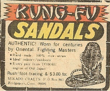 Darling Pet Munkee Issue 7: Kung-Fu Sandals