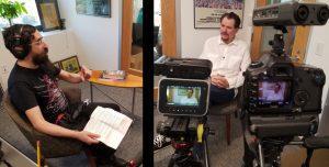 Michael interviewing Phantasm creator Don Coscarelli