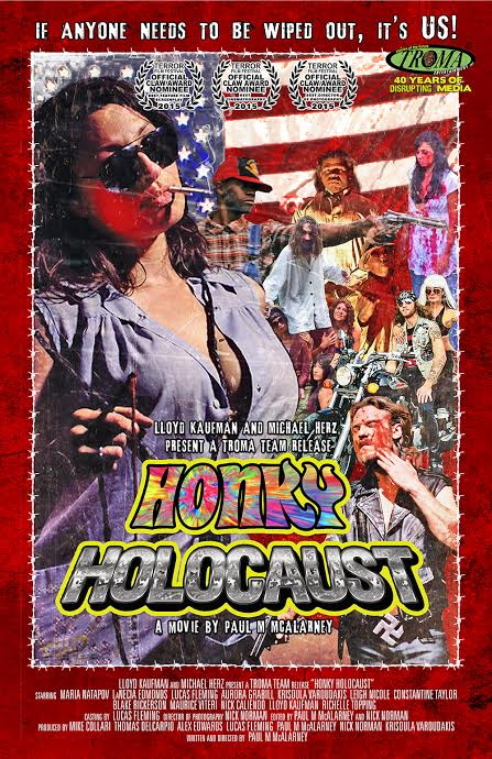 Honky Holocaust out on Troma via Blu Ray and VOD! (Michael did some post work on this)