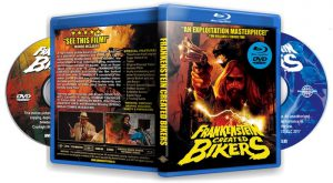 "Blood of the Tribades trailer included in special ""LET'S GO TO THE DRIVE-IN"" Frankenstein Created Bikers / Dear God No! double feature disc"