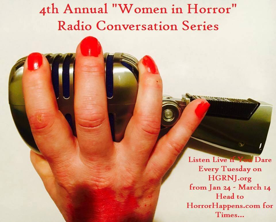 Sophia on Horror Happens podcast!